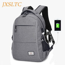 2017 Giant Capability Exterior Charging USB Operate Laptop computer Backpack 15.6 Inch Males Enterprise Informal Backpacks Scholar Faculty Bag