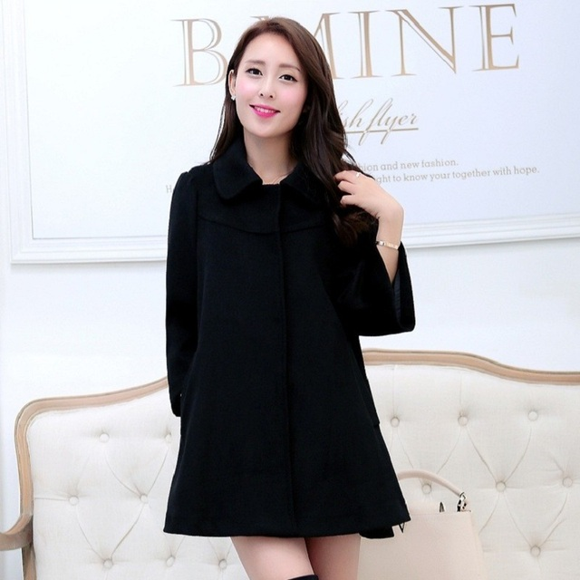 Autumn/ Spring Maternity Coat  Maternity Clothing mid-long Jacket  For Pregnant Women Maternity outerwear maternity clothes