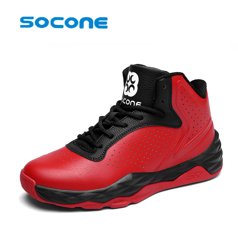fe3691694af2 socone Lifestyle basketball shoes for lovers newest 2017 basketball sneakers  men lace up basket homme four season