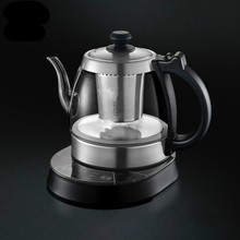 Electric kettle Glass pot food grade 304 stainless steel thermostatic glass electric Safety Auto-Off Function