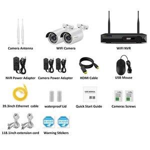 Image 4 - Einnov H.264 + NVR Kit Video Überwachung Wifi 1080P IP Kamera CCTV Set Startseite Wireless Security Kamera System Wasserdicht IP66 HD