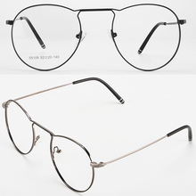 Europe America Oversized Ultralight Alloy Frame Custom Made Prescription Glasses Photochromic Grey/ Brown Myopia Near-sighted
