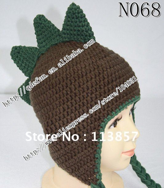 4c3745e1bb3 100% organic cotton(10 lot ) hat FREE SHIPPING dinosaur hat Crochet baby hat  Photography prop boys or girls Custom to order-in Hats   Caps from Mother  ...