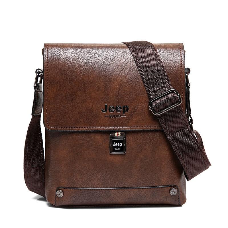 b427ce8c0e30 JEEP BULUO Brand Men Bags Cow Split Leather Fashion Male Messenger Bags  Men s Briefcase Man Casual Crossbody Shoulder Bag 5848