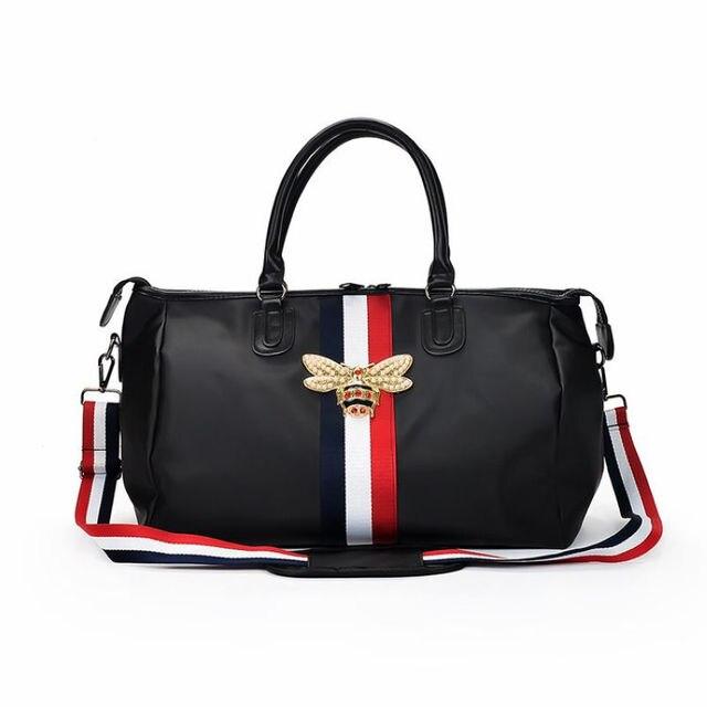 5abe34f7e7 GYKZ Luxury Design Large Capacity Travel Duffle Bag For Women   Men  Portable Sport Gym Bag Waterproof Fitness Shoulder Bag HY115