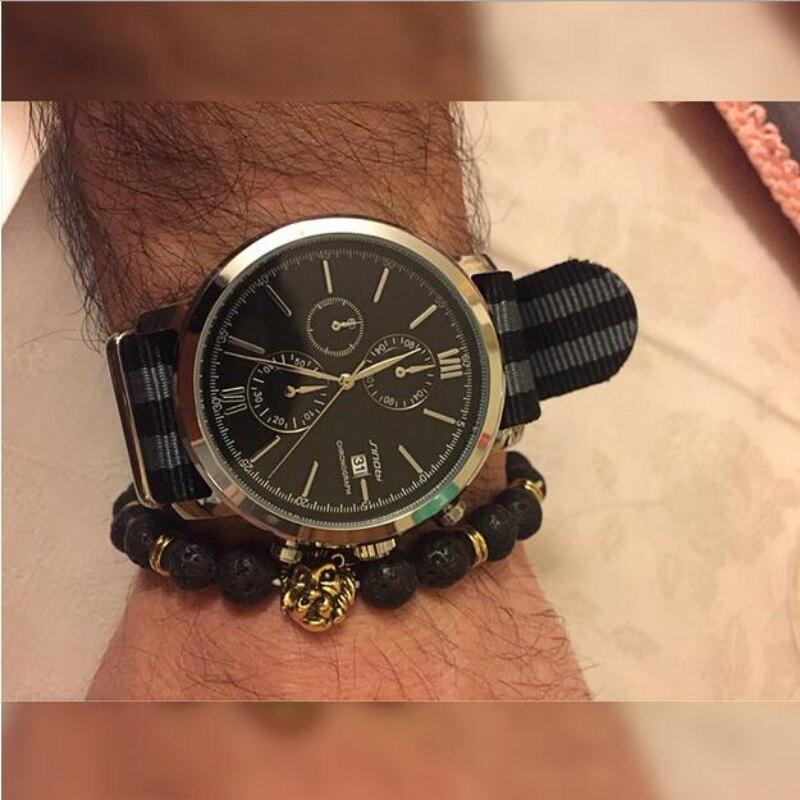 0813f0e9641 SINOBI James Bond 007 Uhr Männer Sport Uhr Chronograph herren Uhr SINOBI  Luxus Uhren Uhr relogio masculino reloj hombre in SINOBI James Bond 007 Uhr  Männer ...