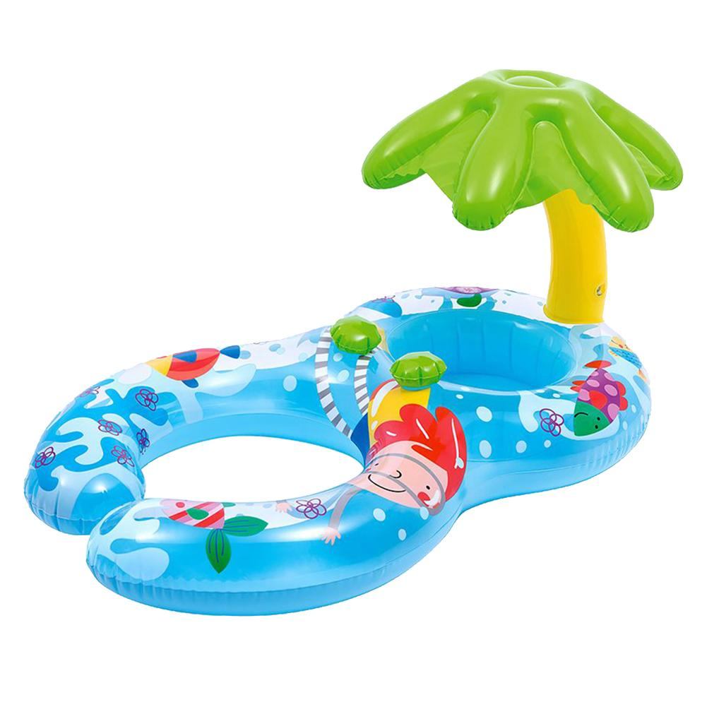 Baby Swimming Sunshade Newborn Infant Swimming Parent Child Summer Activity Pool Inflatable Float Toys