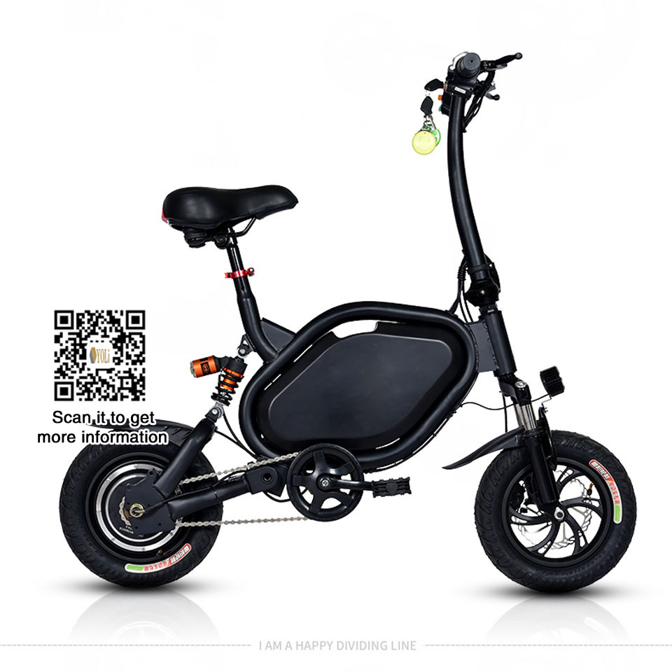 Mini type Electric bicycle adult female mini battery folding power electric bike with pedal Pakistan