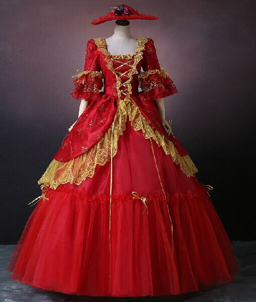 Compare Prices on Red Renaissance Dress- Online Shopping/Buy Low ...