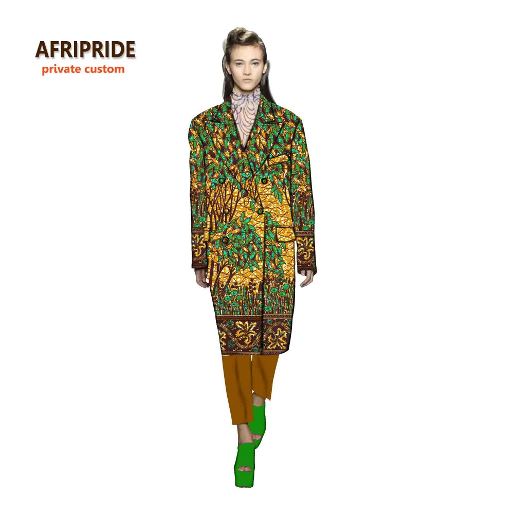 African dress for women african clothes long suitcoat bazin riche robe africaine fashion cotton print wax