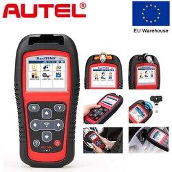 AUTEL MaxiTPMS TS501 инструмент для измерения давления в шинах TPMS датчик диагностический инструмент TPMS сервис автоматический сканирующий инструмен...