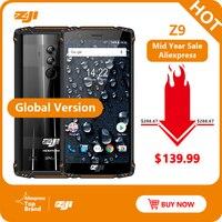 Waterproof ZOJI Z9 IP68 Водонепроницаемый Helio P23 Android 8,1 восьмиядерный смартфон 5,7 6 ГБ 64 Гб 5500 мАч распознавание лица отпечатков пальцев мобильный теле