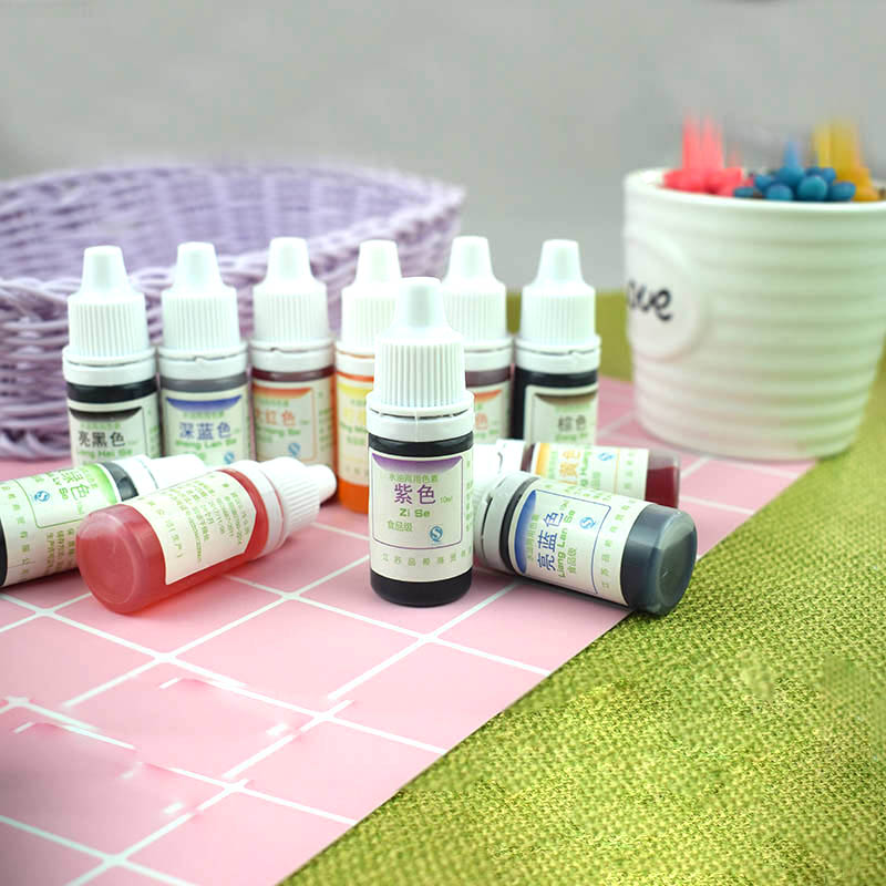 Dyeing Pigment Slime Crystal Mud UV Resin Dyeing Water Oil Dual Use Pigment DIY Craft HVR88
