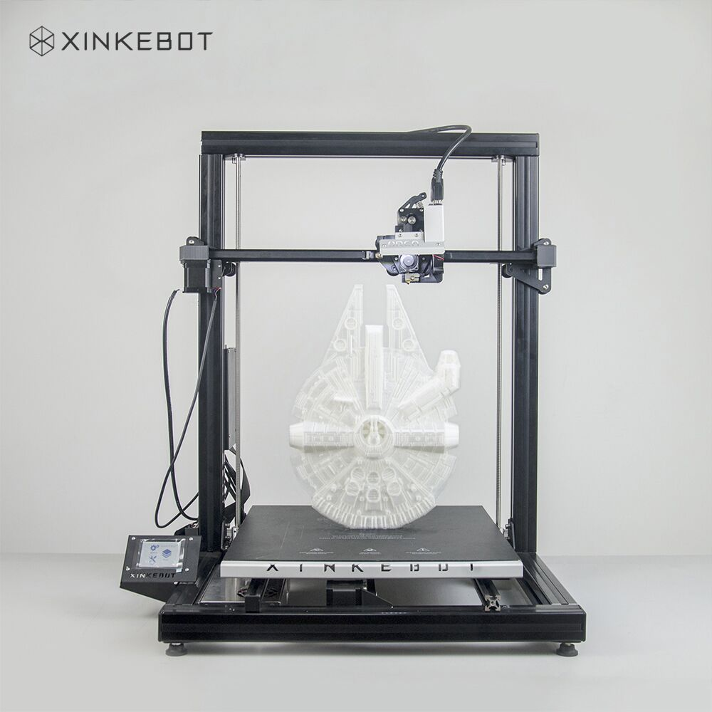 Xinkebot Orca2 Cygnus Large 3D Printer Dual Extruder 0.05mm Precision Printing 400x400x500mm Print Size Fast Shipping стоимость