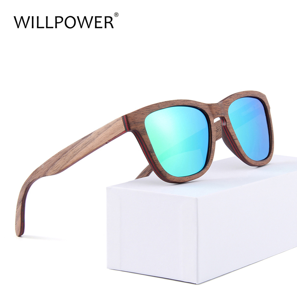 New Retro Bamboo Sunglasses Men Wooden Bamboo glasses Women Brand Designer Fashion Square Wood Sun Glasses