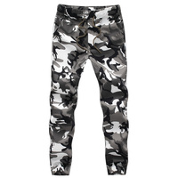 Marke Neue Frühling Herbst Armee Mode Hängen Schritt Jogger Hosen Patchwork Pluderhose Männer Gabelung Große Camouflage Hose Hose