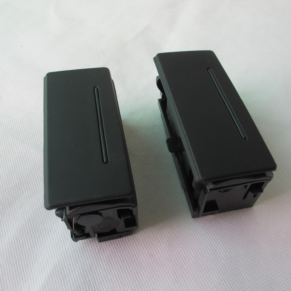 PAIR BLACK DOOR Rear ashtray FOR <font><b>AUDI</b></font> <font><b>A6</b></font> C5 C6 S6 Q7 RS6 1998-2011 4B0 857 406 B 4B0 857 405 B image