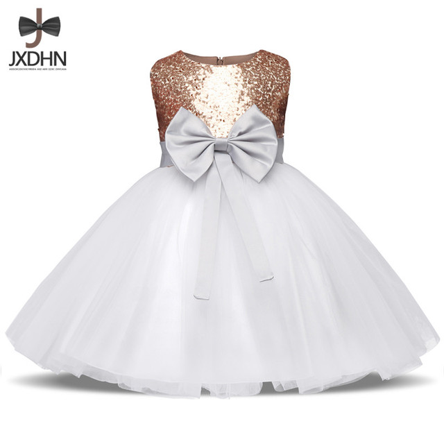 Luxury Baby Girl Wedding Pageant Gown Baby Girl 1 2 Birthday Dress