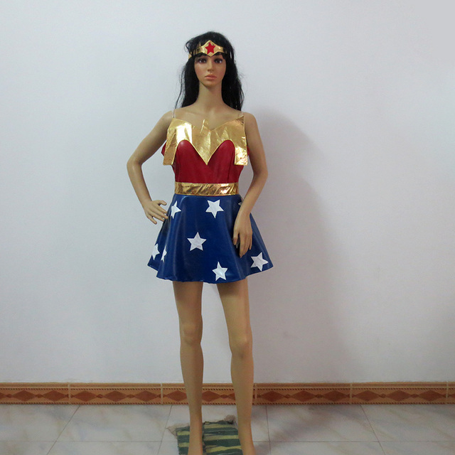 Batman V Superman Dawn Of Justice Wonder Woman Cosplay Costume Halloween Party Custom Made Any Size