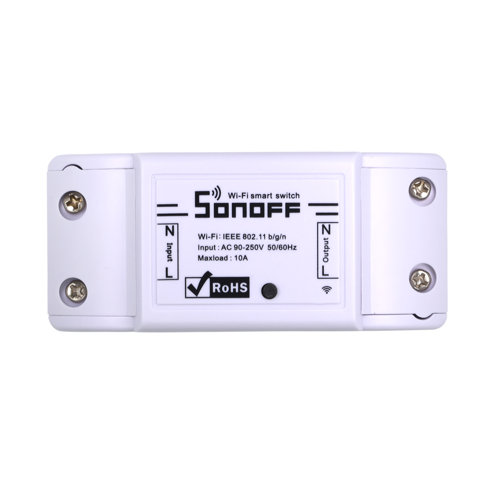 Itead Sonoff Basic Wifi Switch Diy Wireless Remote Domotica Light Smart Home Automation Relay Module Controller Work With Alexa