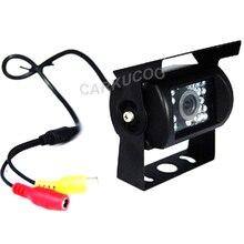 Spannung 12-24 V Wasserdichte Rückfahrkamera Für Lkw Mit 10 Mt kabel, Nachtsicht Bus Lkw Rückfahrkamera Mit 18 IR LED lichter