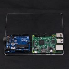 Raspberry Pi 3 Модель B акриловые случае Монтажная пластина DIY Прототип экспериментальная платформа для UNO R3 для Raspberry Pi 2 Чехол