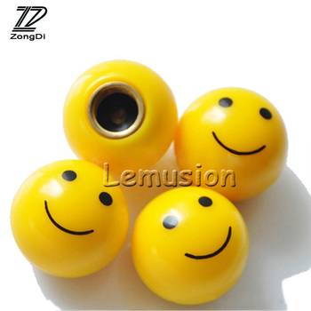 ZD Car Styling Wheel Tires Valves Tyre Covers For Mercedes W203 W211 W204 W210 Benz BMW F10 E34 E30 F20 X5 E70 Accessories 4pcs image