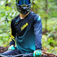 100% Polyester Jersey 2019 Motorcycle off road motocross Jersey ropa ciclismo long sleeve DH MX MTB RBX downhill bike Jersey