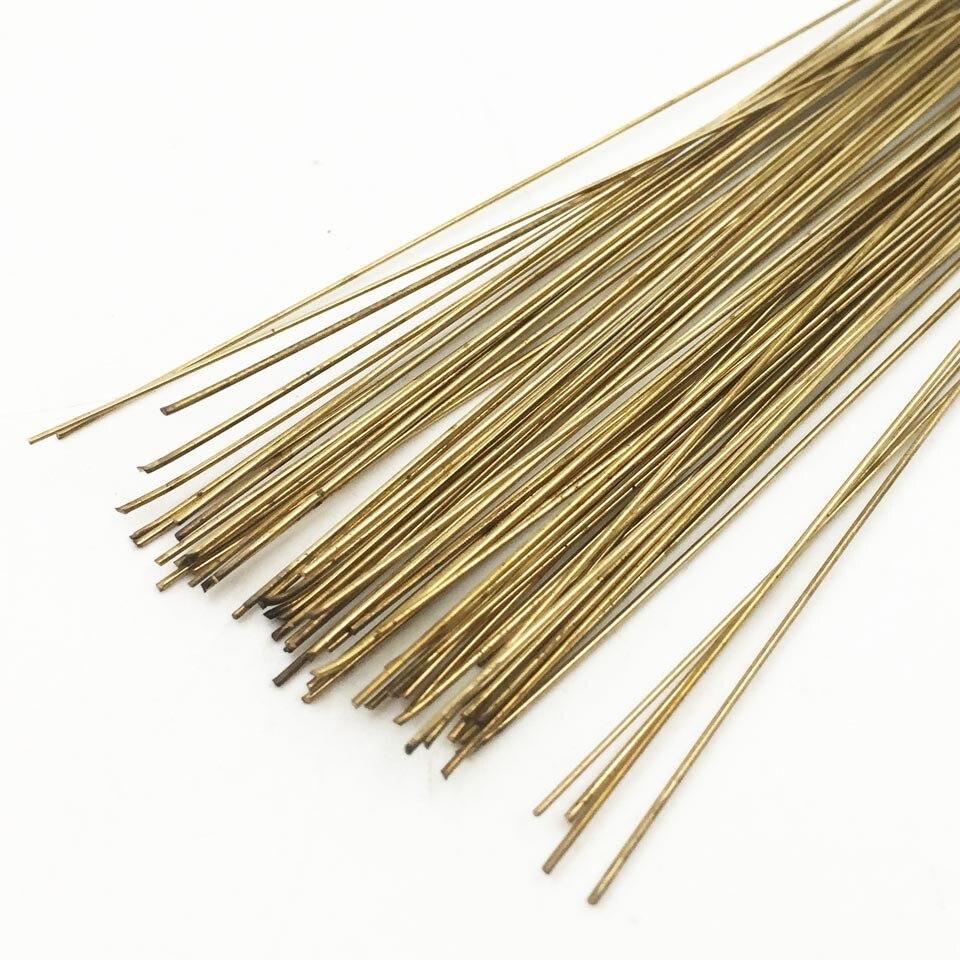 20 stücke schweißstäbe 500mm länge 0,5mm dia silber schweißstäbe für silber, gold, messing, K gold, platin Schmuck schweiß werkzeuge