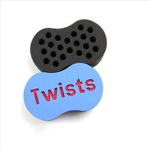 2 pieces/lot Magic Hair Twist Sponge Dreads Twisting Locks Dreadlocks Curl Brush Sponge Hair curl sponge brush все цены
