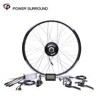 2019 Waterpro Electric Bike Kit 48v500w Shengyi Rear Cassette Conversion Brushless Hub Motors 20'' 26'' 28'' Motor Wheel