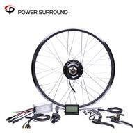 2020 Waterpro Elektrische Bike Kit 48v500w Shengyi Hinten Kassette Umwandlung Bürstenlosen Hub Motoren 20'' 26'' 28'' Motor Rad