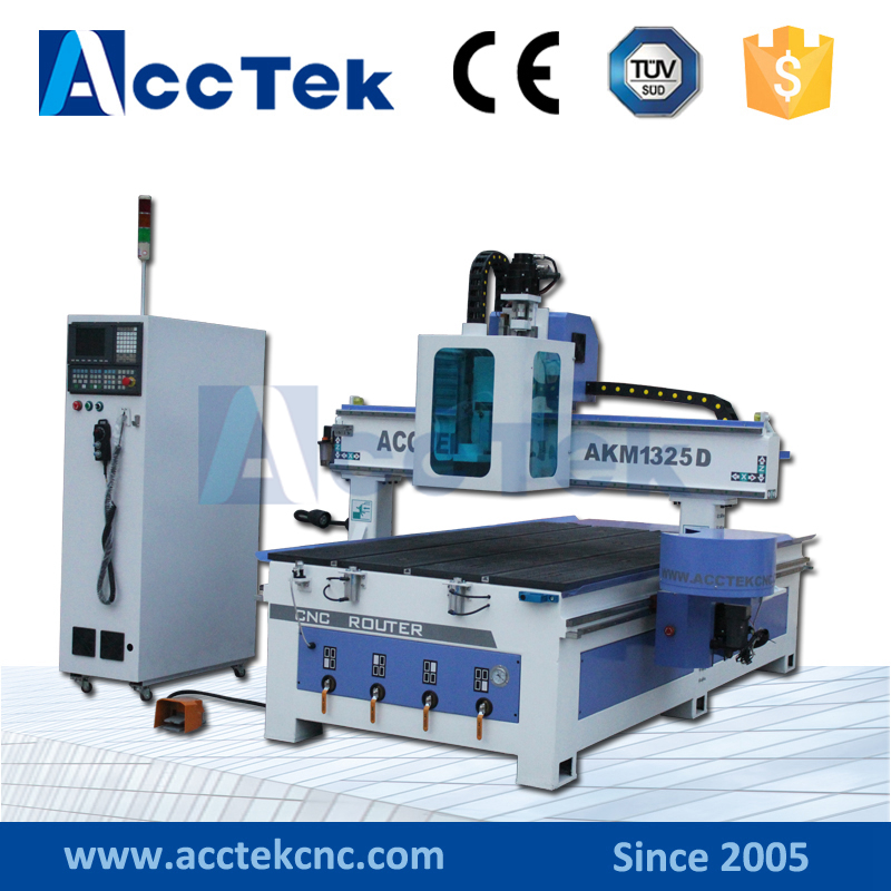 Buy Latest Hot 4 Axis CNC Router 1325 Engraver Machine for Milling , Drilling, Carving image