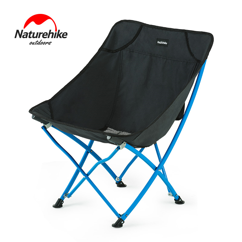 Naturehike Lightweight Portable Heavy Duty Outdoor Folding Beach Chair Fold Up Fishing Picnic Chair Foldable Camping