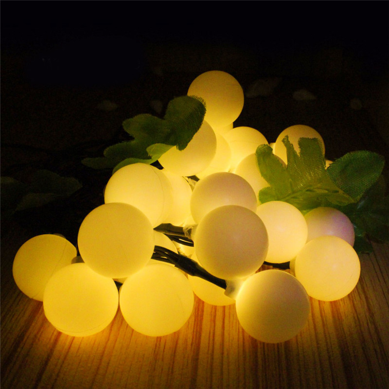 Image 5 - 10M 100 LED Solar Lamps LED String Fairy Lights Garland Christmas Solar Lights For Wedding Garden Party Decoration Outdoor-in LED String from Lights & Lighting on
