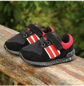 2016 do sexo masculino bebê criança do sexo feminino sapatos de desporto 0-1-2 anos de idade do bebê da criança sapatos macios sapatos de sola de skate slip-resistente