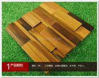 브랜드 1 상자 (11) 나무 모자이크 인테리어 벽 유리