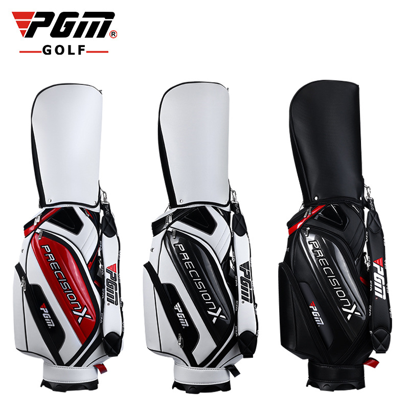 Brand new golf standard bag PU waterproof ball PGM golf ball bag golf ball sample display case