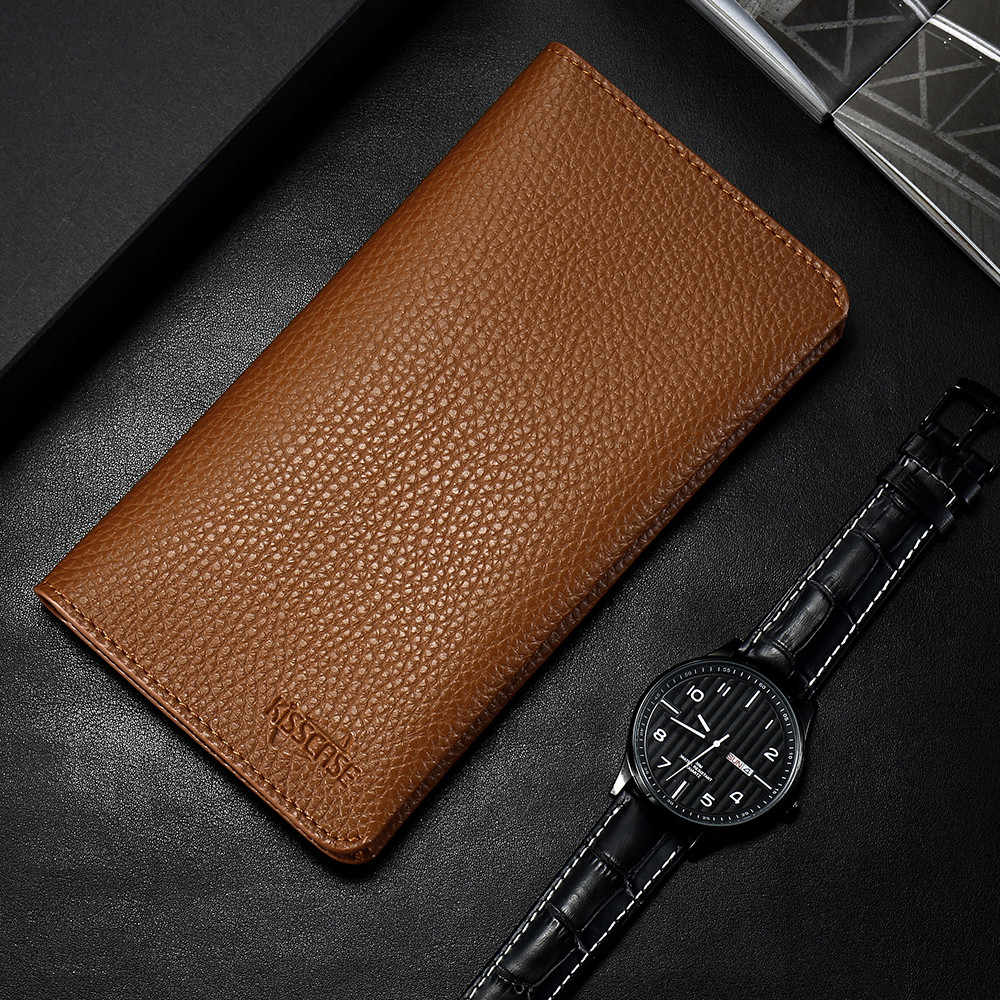 KISSCASE Universal Flip Leather Phone Case For Huawei P20 P10 P9 Mate 20 Lite Luxury Wallet Case For Xiaomi Mi 8 A1 A2 Lite Capa