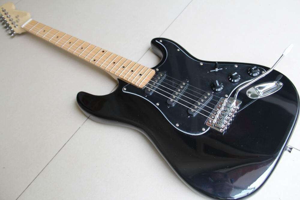 Wholesale Cnbald 6 String Fdr STR Electric Guitar 3 Pickups in black 120508Wholesale Cnbald 6 String Fdr STR Electric Guitar 3 Pickups in black 120508