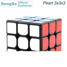 цена на ShengShou Pearl 3x3x3 Magic Cube Competition 3x3 Cubos Magico Professional Neo Speed Cube Puzzle Antistress Fidget Toys For Kids
