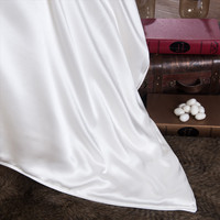 4A Quality 100% mulberry silk filling comforter 19 m / m silk shell cover size 200 x 220 quilt 4kg silk quilt customize