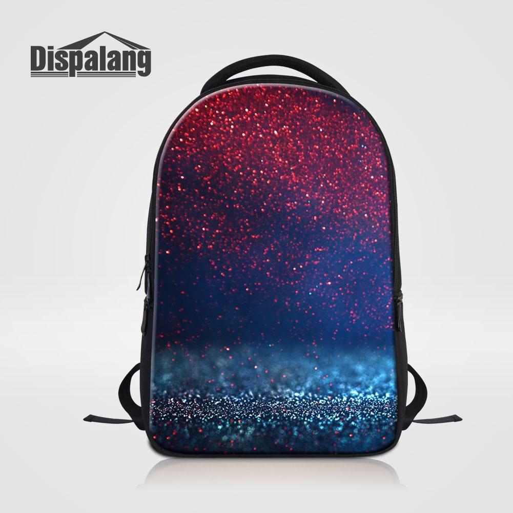 цена на Dispalang Universe Space Backpack For Laptop Galaxy School Bags For Teenage Girls Men's Shoulder Bag Supreme Bagpack Pack Rugtas