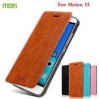 Оригинальный MOFI для Meizu 15 чехол с крышкой Роскошный кожаный стенд Fundas Coque чехол для Meizu 15 кожаный чехол