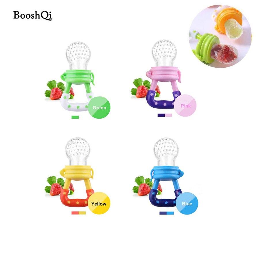 1 Pc Baby Schnuller Silikon Frische Lebensmittel Milch Knabber Feeder Kinder Nippel Fütterung Lustige Biss Nippel Beißring Chupeta Flaschen Bpa Freies