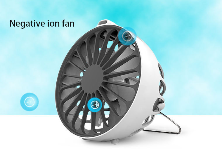 Negative Ion Health Desktop Small Fan High Grade Usb Portable Mini Fan Creative Air Conditioner Fan original xiaomi portable usb mini fan