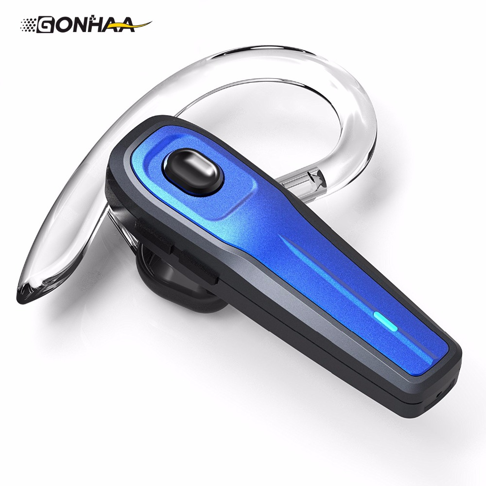 New GONHAA Bluetooth wireless headset V4.1 mute switch and noise-canceling microphone car headset bluedio f2 active noise canceling bluetooth headset