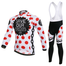 Spring Long Sleeve Cycling Wear Clothes Bicycle Autumn Cycling Jersey Bib Pants Jacket Set Ropa Maillot Ciclismo L082