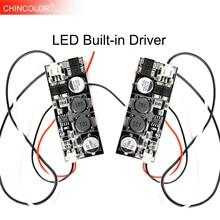 Led ドライバ内蔵電源 300mA (12 18) x1W AC/DC12 24V dc 30 V 〜 60 V 12 ワット 14 ワット 15 ワット 16 ワット 18 ワット DIY LED 電球ランプスポットライト JQ