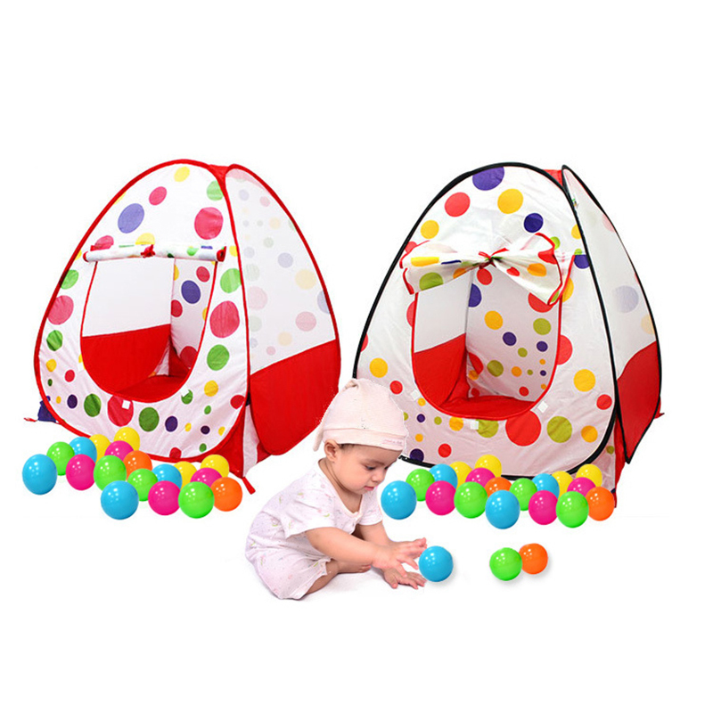 MINOCOOL Indoor & Outdoor Cartoon Pattern Gaming Tent Beach Tent Toy Folding Outdoor Play House Children Beach Game